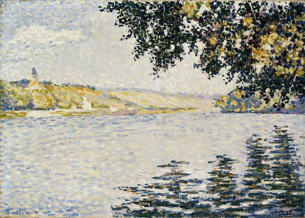 View of the Seine at Herblay