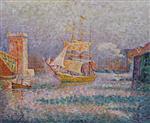 Harbour at Marseilles