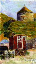 Port-en-Bessin, the Old Tower