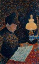 Woman by Lamplight