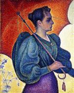 Woman with Parasol, Opus 243 (Portrait of Berthe Signac)
