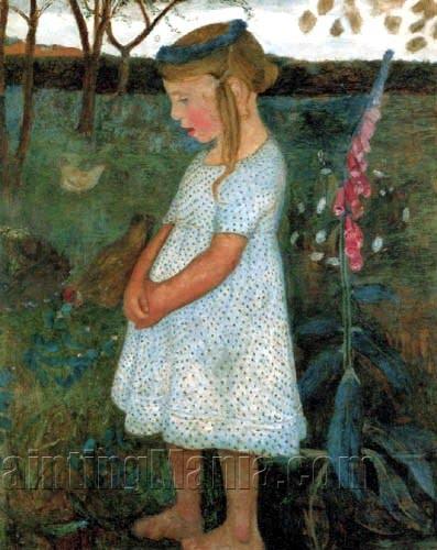 Elsbeth in the Brunjes Garden
