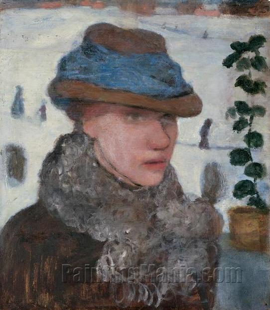 Portrait of Martha Vogeler (Wife of Heinrich Vogeler)