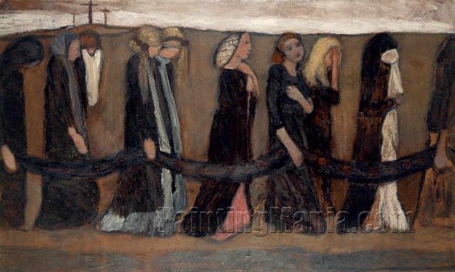 Zug klagender Frauen (Train Wailing Women)