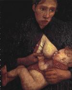 Breast Feeding Mother 1903