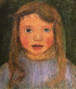 Head of a Little Girl (Elsbeth)