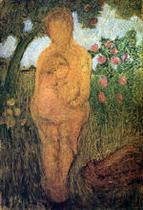 Nude Woman with Child