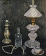 Still Life with Gas Lamp