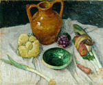 Still Life with Vegetables and Earthenware