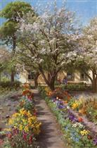 Blooming Garden in Spring