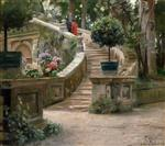 In the Park of the Villa d'Este