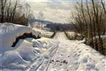 Snowy Path in Langsith