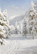 A Winter Landscape 1920
