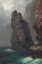 Steeple Rock, Kynance Cove, Cornwall