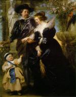 Rubens, His Wife Helena Fourment, and Their Son Peter Paul