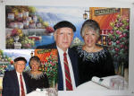 custom couples portrait painting