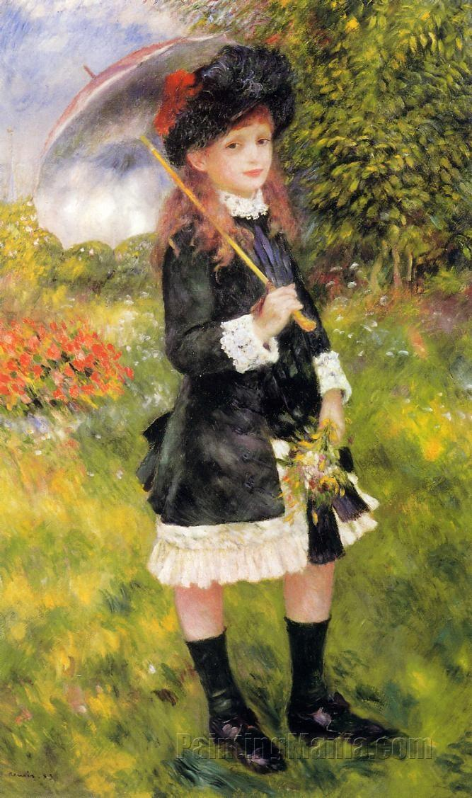 Girl with a Parasol (Aline Nunes)