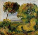 Breton Landscape - Trees and Moor
