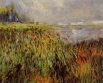 Bulrushes on the Banks of the Seine
