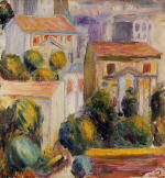 Houses at Cagnes