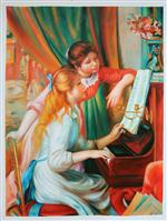 Jeunes filles au piano (Girls at the Piano)