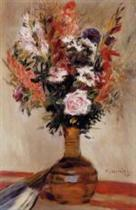 Roses in a Vase 1872
