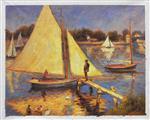 Sailboats at Argenteuil