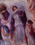 Scene Antique - Femmes aux Peplums