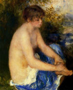 Small Nude in Blue