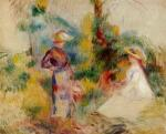 Two Women in a Garden 1906