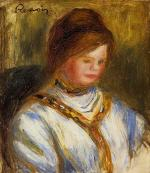 Woman in a Blue Blouse