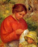 Woman and Child 1900