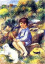 Young Boy by the River