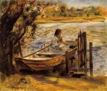 Young Woman in a Boat