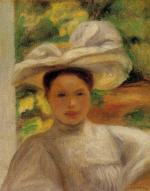 Young Woman in a Hat 1895