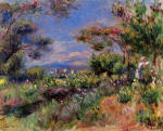 Young Woman in a Landscape, Cagnes
