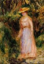Young Woman Taking a Walk