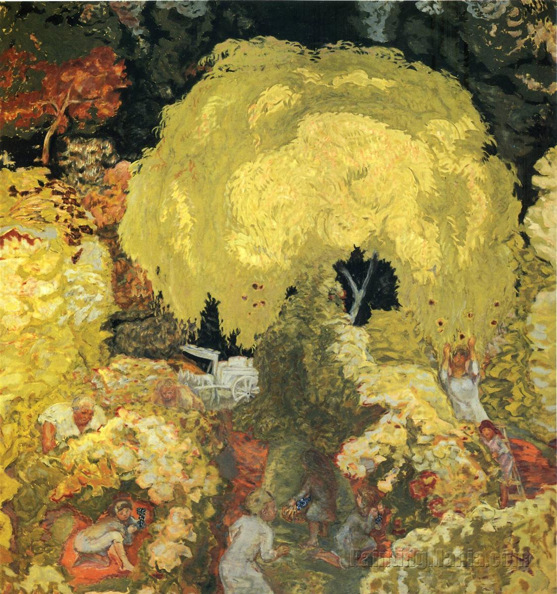 Autumn: The Fruit Pickers