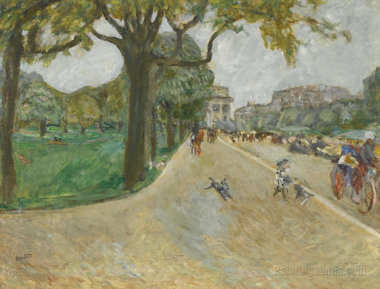 Avenue du Bois in Boulogne