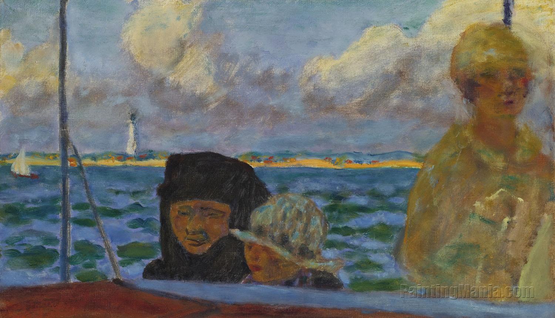 On a Boat (The Promenade at Sea)