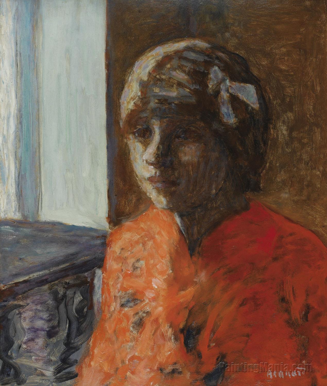 Marthe Bonnard en Corsage Rouge