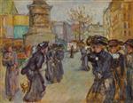 La Place Clichy 1900