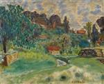 Landscape of Cagnes