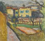 Landscape with Yellow House