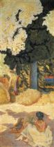 The Mediterranean (Right of Triptych)