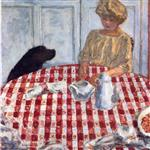 The Red Checkered Tablecloth