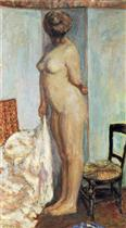 Tall Nude (Woman Nude Standing)