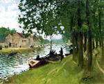 Barges at Saint-Mammes