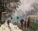 Bineau Boulevard under the Snow