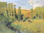 Landscape in Creuse